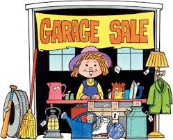 Backyard 'Garage' Sale