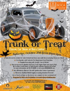 Trunk or Treat Classic Car Show