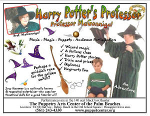 Harry Potter's Professor (with Suzy Hammer)