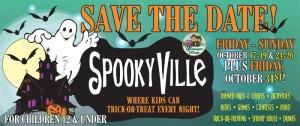 Spookyville in Yesteryear Village