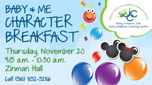 Levis JCC Zale Early Childhood Learning Center Character Breakfast
