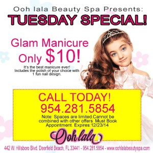 Glam Manicure Only $10!