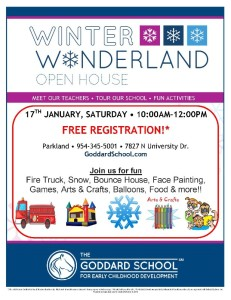 Winter Wonderland Open House