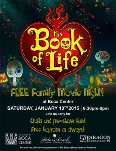 The Book of Life – FREE MOVIE NIGHT