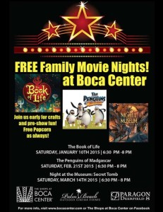 The Penguins of Madgascar – FREE MOVIE NIGHT