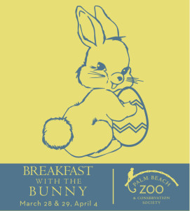 Breakfast with the Bunny at the Palm Beach Zoo