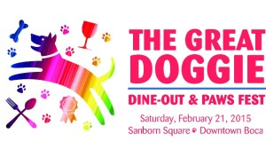 GREAT DOGGIE DINE-OUT & PAWS FEST