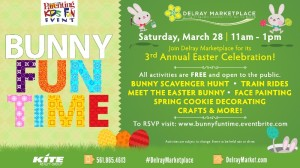 Delray Marketplace Bunny Fun Time