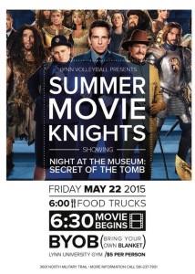 Lynn University Summer Movie Knight