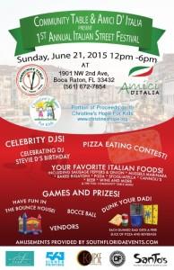 Boca Raton Italian Street Festival