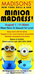 Minion Madness Luncheon